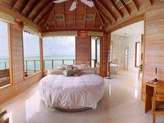 Maldives-Nice sleeping arrangements!