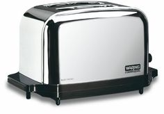Waring Commercial WCT702 Light Duty Chrome Plated Steel Toaster with 2 Slots - http://sleepychef.com/waring-commercial-wct702-light-duty-chrome-plated-steel-toaster-with-2-slots/