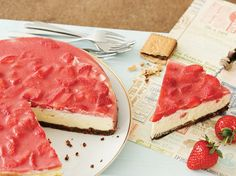 DIY-Anleitung: 5 Rezepte für Cheesecake mit Schokoriegeln  via DaWanda.com