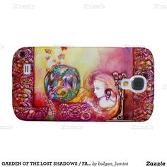 GARDEN OF THE LOST SHADOWS / FAIRY AND BUTTERFLIES GALAXY S4 CASE
