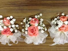 Corsages - for Mike's prom
