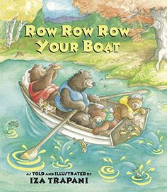 """Read """"Row Row Row Your Boat"""" by Iza Trapani available from Rakuten Kobo. Climb aboard, read, and sing along with this adorable family of bumbling bears as they row, row, row their boat on a mer. Row Row Row, Row Row Your Boat, The Row, Singing Lessons, Music Lessons, Singing Tips, Transportation Theme, Music Classroom, Music Teachers"""