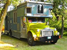 Holy cow! The Mary Ellen Carter is the most gorgeous tiny-house-on-wheels that I've ever seen. Click through for some amazing pictures.