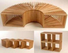 Modular furniture units