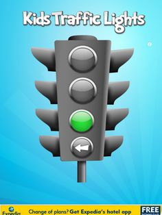 Kids Traffic Light App - can use it in many ways during speech therapy. I plan to use it to increase self-awareness about rate but will likely use it in artic and stuttering tx too.