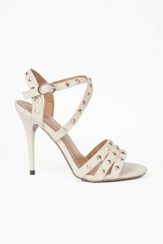 5e5128040dcb6 Straps and Studs Heels Cheap Sandals