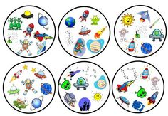 Science Art, Science For Kids, Planets Preschool, Preschool Activities, Activities For Kids, Transportation Worksheet, Solar System Projects, English Games, Fun Games For Kids