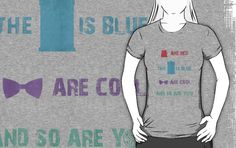 """""""Doctor Who T-Shirt - Colour"""" T-Shirts & Hoodies by SallyDiamonds   Redbubble"""