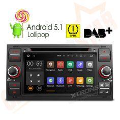 https://www.i-sabuy.com/ Android 5.1 Car Head Unit DVD Stereo GPS SatNav WiFi Ford Mondeo/Fiesta/Galaxy