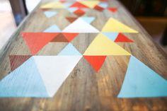 painted coffee tables diy
