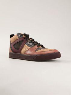 Lanvin Panelled Sneakers - Pl-line - Farfetch.com