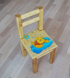 Купить Детский стульчик - бежевый, стульчик, детский стульчик, детский стул, для детской, детская мебель