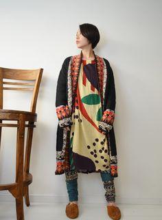 個性的 ファッション セレクトショップGREENチャイハネ amina アミナ エスニック ワプリワンピースレディース ワンピース 30代 40代 50 代 大人エスニック ゆったり