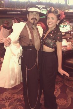 My friend Fernado and I. Pachuco hangout at Viva :)