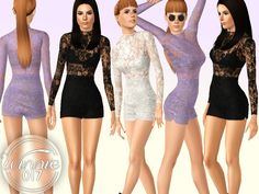 Sims 4 CC's - The Best: Clothing for Women by Winnie017