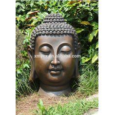 Home garden decoration big head buddha for sale