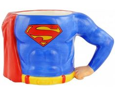 DC Comics Superman 3D Körper Tasse - Superman`s Body Mug 350ml