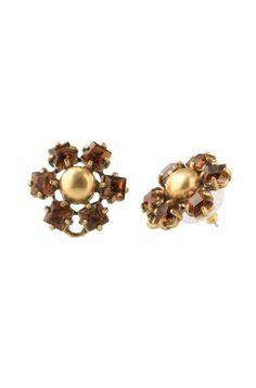 Stella & Dot Mint Green & Gold Chandelier Earrings | Melanie Chandeliers