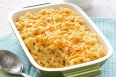 Your family will fall in love with homemade mac and cheese all over again.  Trust us, this ooey-gooey oven bake is cheesier than you ever thought possible.
