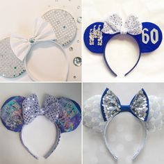 Channel Your Inner Disney Princess in These Diamond Disneyland Ears!