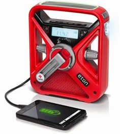 Red Cross FRX3 Eton Emergency Radio - Buy one and get a Family Starter Kit Free! - Red Cross Store