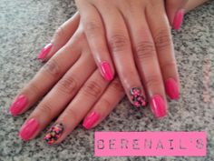 Gel decorado nail art uñas bonitas
