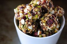 gimme some oven | Cranberry Pistachio Energy Bites | Gimme Some Oven