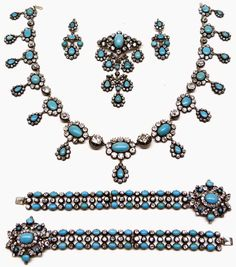 Turquoise Parure (Italy Royal Family).