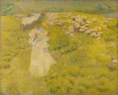 The Athenaeum - A Walk Through the Fields (Philip Leslie Hale - )