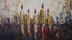 Akryl - Swiece Modern Art, Painting, Paintings, Contemporary Art, Draw, Drawings