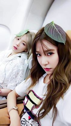 Tiffany and Taeyeon