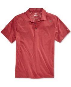 Fox Men's Rookie Trudri Graphic-Print Logo Polo  - Red 2XL