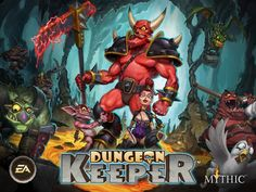 Dungeon keeper is back on appstore and android