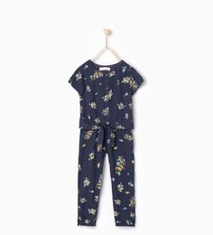 Image 1 of Floral jumpsuit from Zara