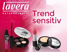 Trend sensitiv von Lavera im neuen Look: Natur-Make up mit Glamour-Faktor!