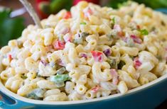 How to make the very BEST Macaroni Salad! We LOVE this recipe and it is always a hit! One of my most requested recipes! Fresh Salad Recipes, Pasta Salad Recipes, Healthy Salad Recipes, Vegetarian Recipes, Vegetarian Dish, Potluck Recipes, Casserole Recipes, New Recipes, Cooking Recipes