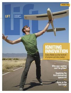 """Check out the Spring 2012 edition of our Alumni Magazine, """"Lift'"""