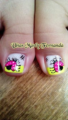 Uñas pies Más Cute Pedicure Designs, Toenail Art Designs, Pretty Nail Designs, French Pedicure, Manicure And Pedicure, Toe Nail Art, Toe Nails, Cute Pedicures, Different Nail Designs