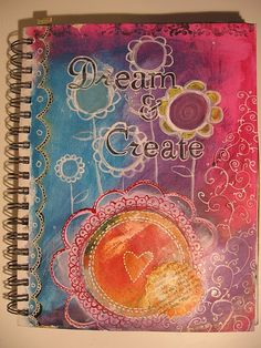 Art Journaling can coincide with prayer journaling. Use God's gifts to you to glorify Him.