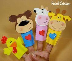 Easy Diy Crafts, Crafts To Make, Crafts For Kids, Felt Puppets, Hand Puppets, Operation Christmas Child, Scrapbook Patterns, Puppet Patterns, Shapes Worksheets