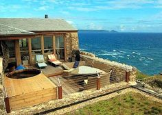 Take us to the Cornish Beach House right away!