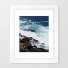 By the Water  White Frame Photo Print available for sale on Society6.com Link down below https://goo.gl/kpPLcj