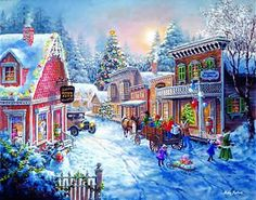 Good Old Days jigsaw puzzle by SunsOut - I really like this but it's 6000 pieces!!!