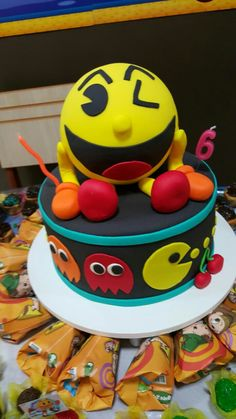 #Bolo #torta #pacman
