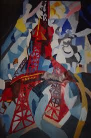 robert delauney the red tower - Google Search