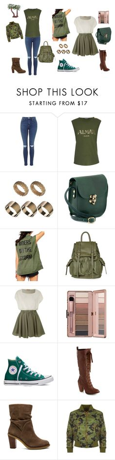 """""""Sem título #114"""" by ravinne ❤ liked on Polyvore featuring Balmain, Farah, Topshop, Jolie Moi, Converse, Vince Camuto, Liquor n Poker, women's clothing, women's fashion and women"""
