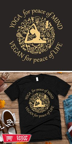 You can click the link to get yours. Yoga For Peace Of Mind Vegan For Peace Of Life. Yoga tshirt for Yoga Lover. We brings you the best Tshirts with satisfaction. Yoga Progress, Prenatal Yoga, Yoga Gifts, Yoga For Kids, Yoga For Beginners, Yoga Inspiration, Peace Of Mind, Mindfulness, Inspirational