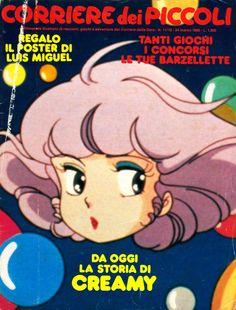"""Il """"Corriere dei Piccoli"""". Il mio giornalino preferito negli anni '80. Pubblicava manga ricolorati e fumetti ricavati dai fotogrammi degli anime. Un vero culto, ai tempi! *_*"""