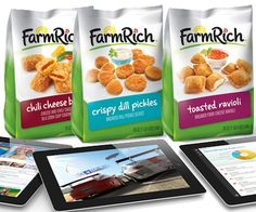 Our friends at Woman's World are giving away lots and lots of Farm Rich snacks + an iPad - great for looking up tasty snack ideas on Pinterest!