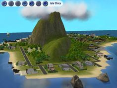 Here is your virtual beach vacation spot for Sims. Beach Vacation Spots, Golf Courses, The Neighbourhood, Fans, Islands, The Neighborhood